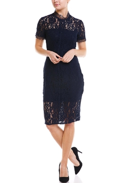 Shoptiques Product: Lace Navy Dress
