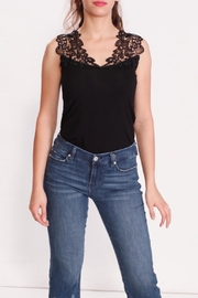 Talk of the Walk Lace Neck Cami - Product Mini Image