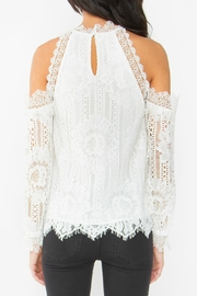 Sugar Lips Lace Ots Top - Side cropped