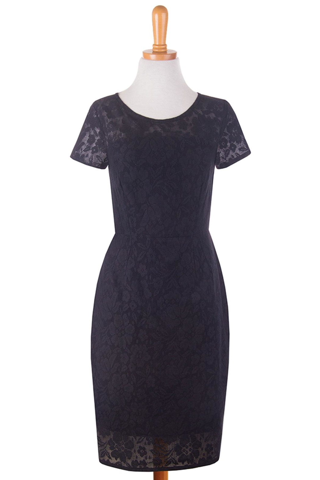Mata Traders Lace Overlay Dress - Front Full Image