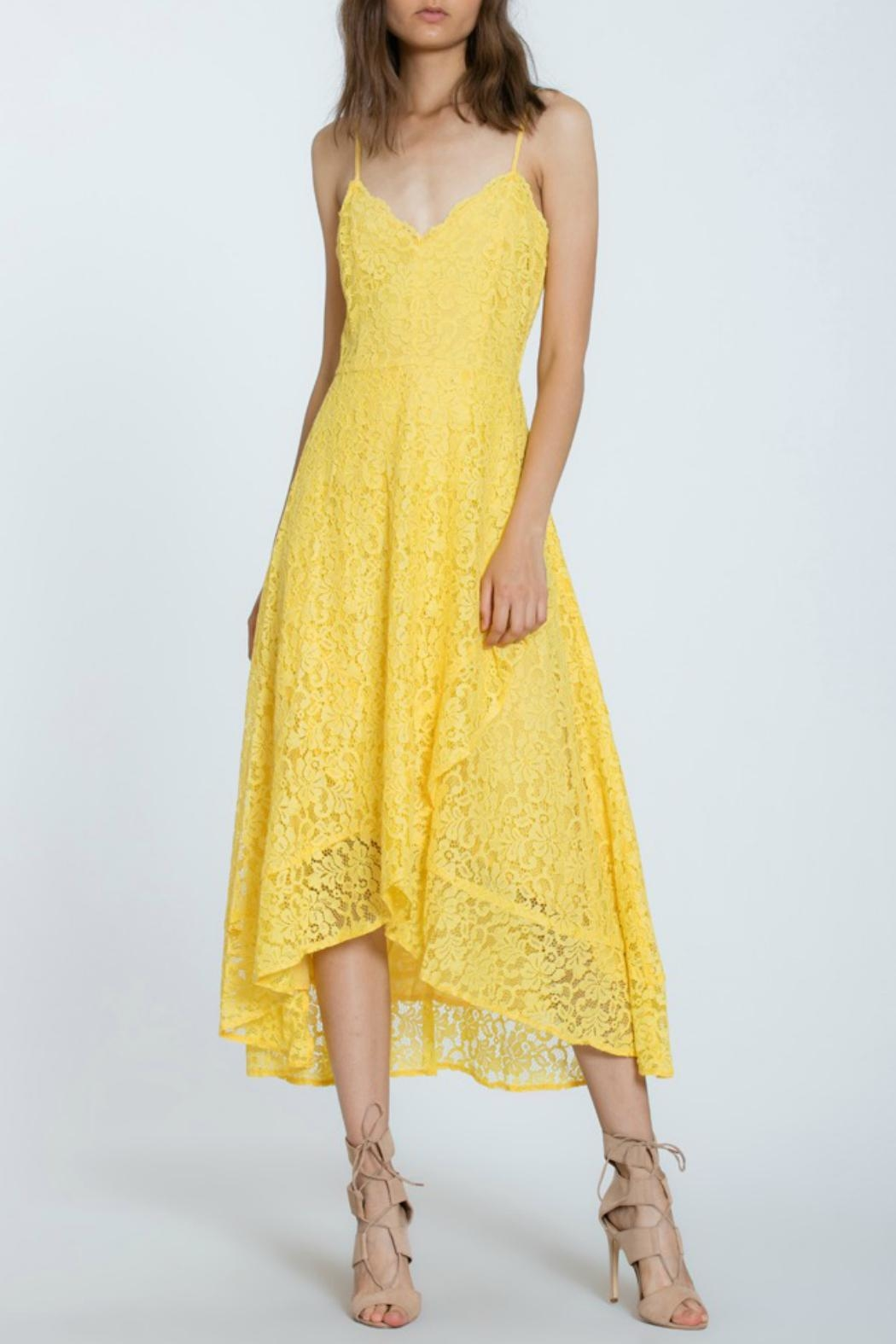 The Room Lace Overlay Dress - Main Image