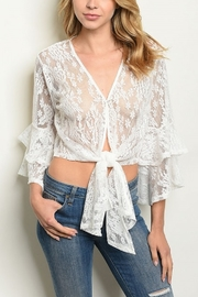 Lyn-Maree's  Lace Overlay - Front cropped