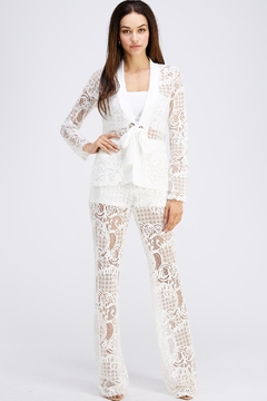 Shoptiques Product: Lace Pant Set