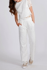 Dry Lake Lace Pants - Front cropped