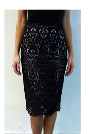 Nicole Miller Lace Pencil Skirt - Product Mini Image