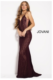 Jovani PROM Lace Prom Dress - Product Mini Image