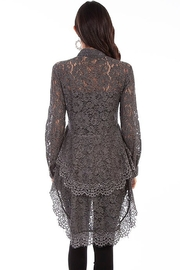 Scully  Lace Ruffle Blouse - Product Mini Image