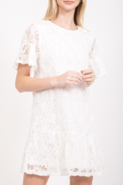 Very J Lace Shift Dress - Product Mini Image