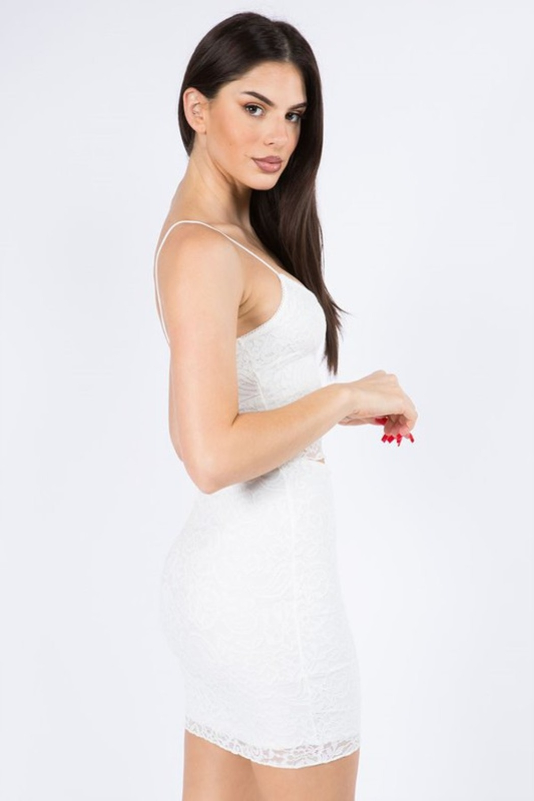 The Bae House Lace SKIRT - Side Cropped Image