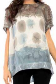 Adore Lace Sleeved Sheer Top with Tank - Product Mini Image
