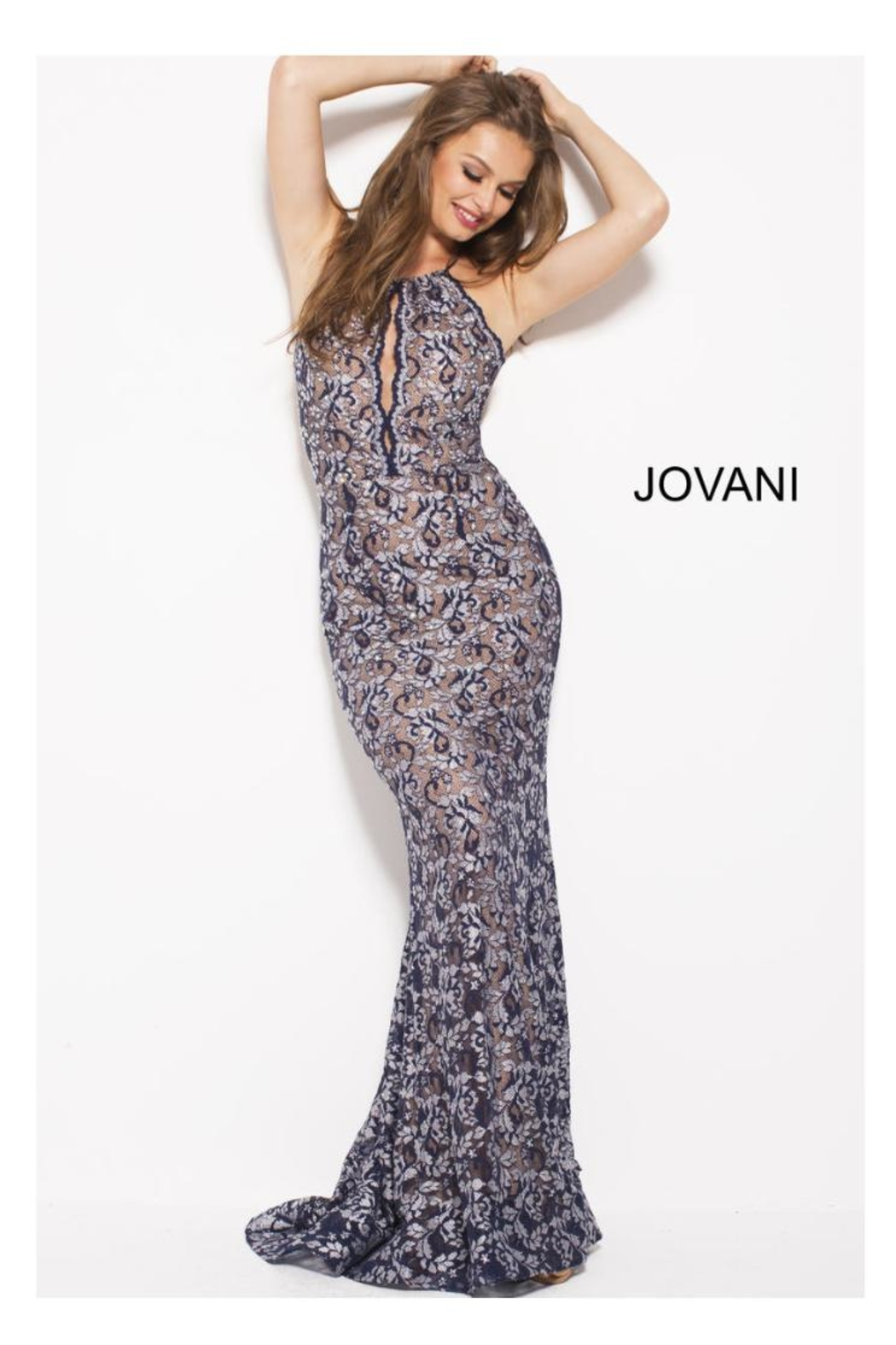92246325f76 Jovani PROM Lace Sparkle Gown from Guilford by A s Unique Boutique ...