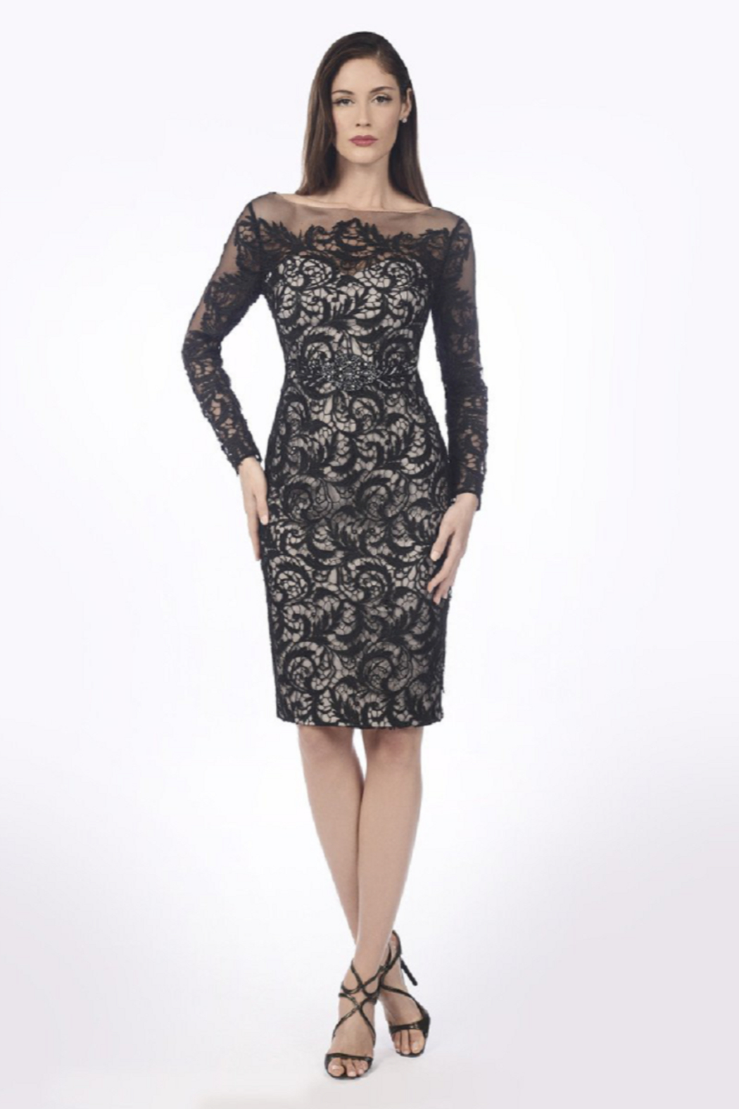 Daymor Lace Special Occasion Dress - Front Cropped Image