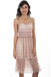 Scully Lace Strapless Dress - Product Mini Image