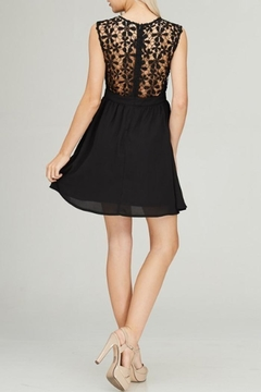 Rosette Lace Sweetheart Dress - Alternate List Image