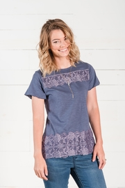 Go Fish Clothing Lace Tee - Other
