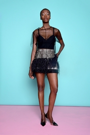 Kimora Lee Simmons Lace Tee Shirt - Front cropped