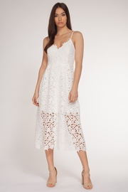 Dex Lace Thin Strap Lined Dress - Product Mini Image