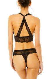 Cosabella Lace Thong - Front full body