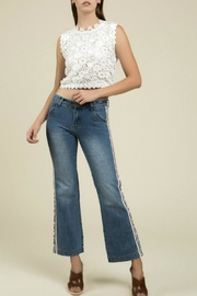 POL Lace Tie-Back Crop - Product Mini Image