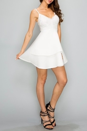 privy Lace Tiered Dress - Product Mini Image