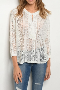 Comme Toi Lace Top - Alternate List Image