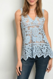 Modern Emporium Lace Top - Front cropped