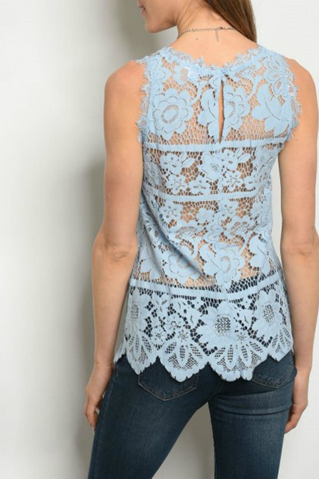 Modern Emporium Lace Top - Front Full Image