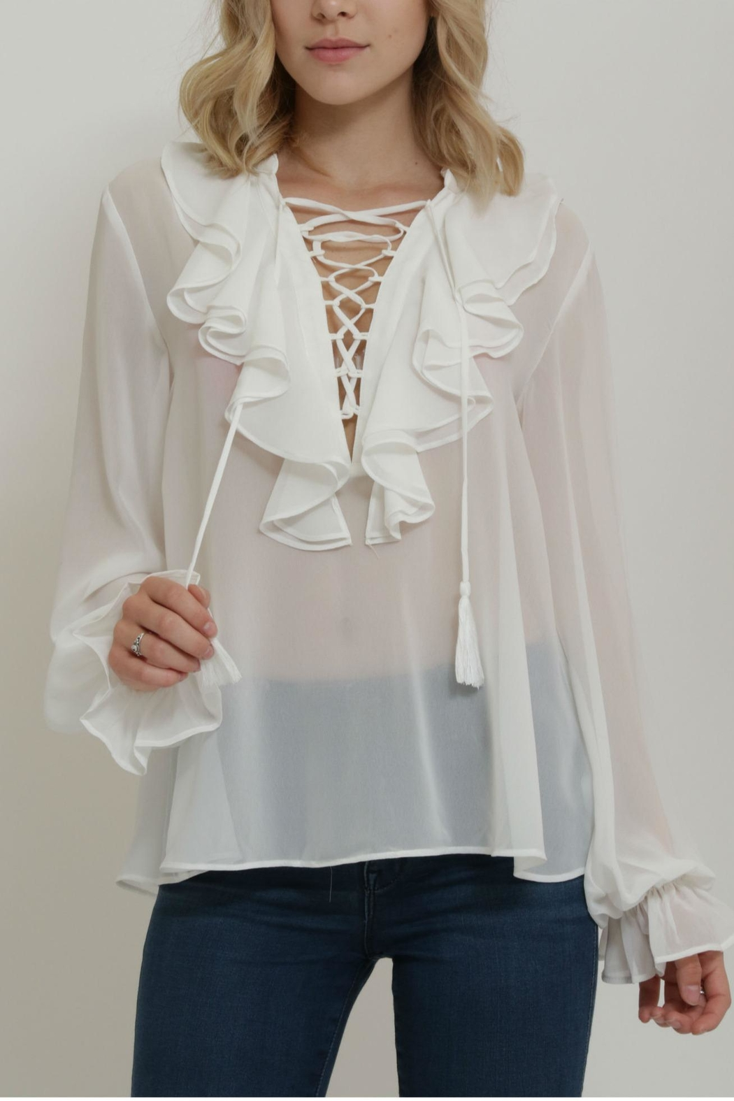 Endless Rose Lace Top - Main Image