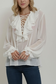 Endless Rose Lace Top - Front full body