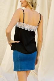Lyn -Maree's Lace Top Cami - Front full body