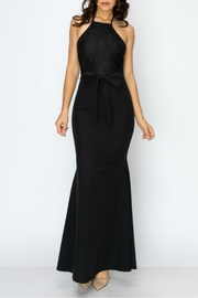 Clara Story Lace Top Longdress - Front cropped