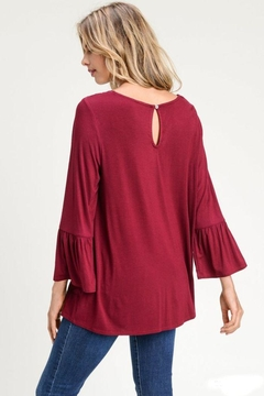 The Dressing Room Lace-Trim Bell-Sleeve - Alternate List Image