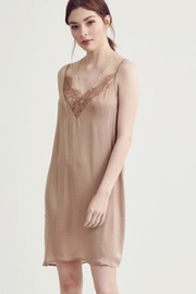 Wishlist Lace Trim Chemise - Front cropped