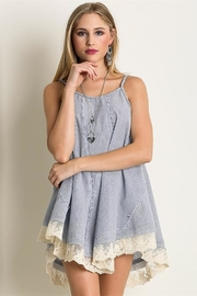 People Outfitter Lace Trim Dress - Product Mini Image