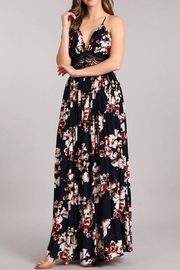 Sung Light Lace Trim Maxi - Side cropped