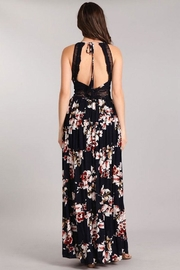 Sung Light Lace Trim Maxi - Front full body