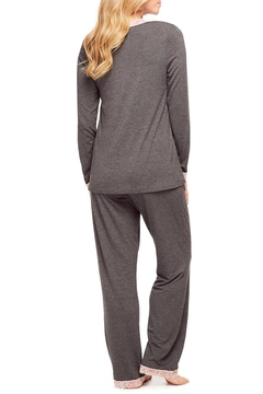 Fleur't Lace Trim Pajamas - Alternate List Image