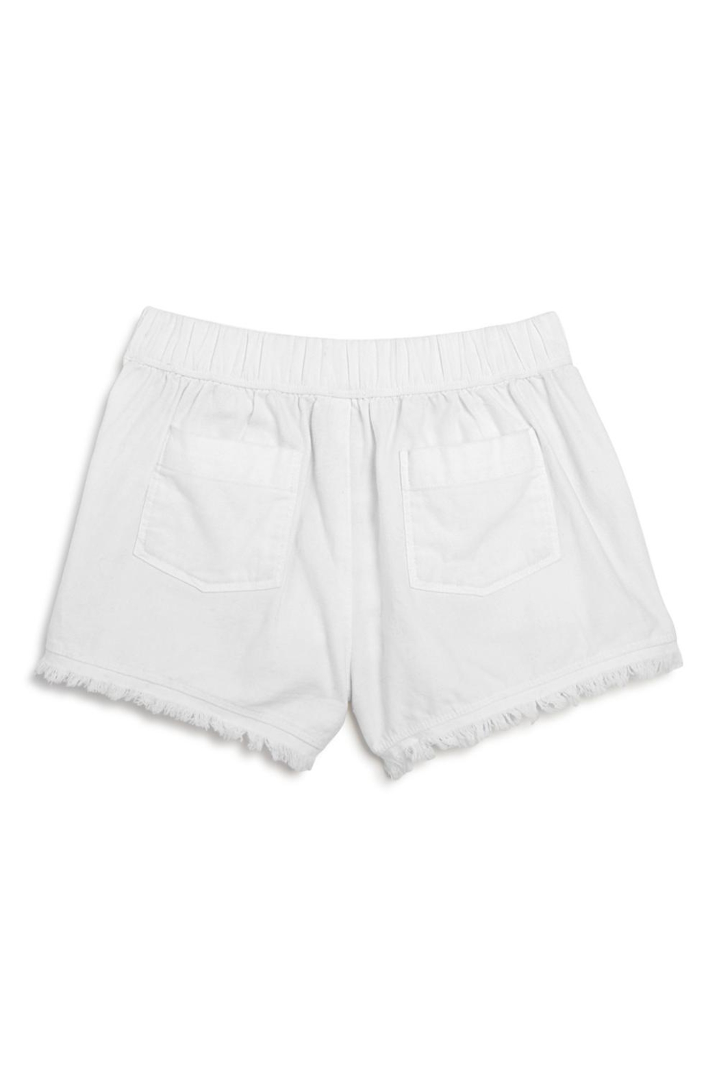 Splendid Lace Trim Shorts - Front Full Image