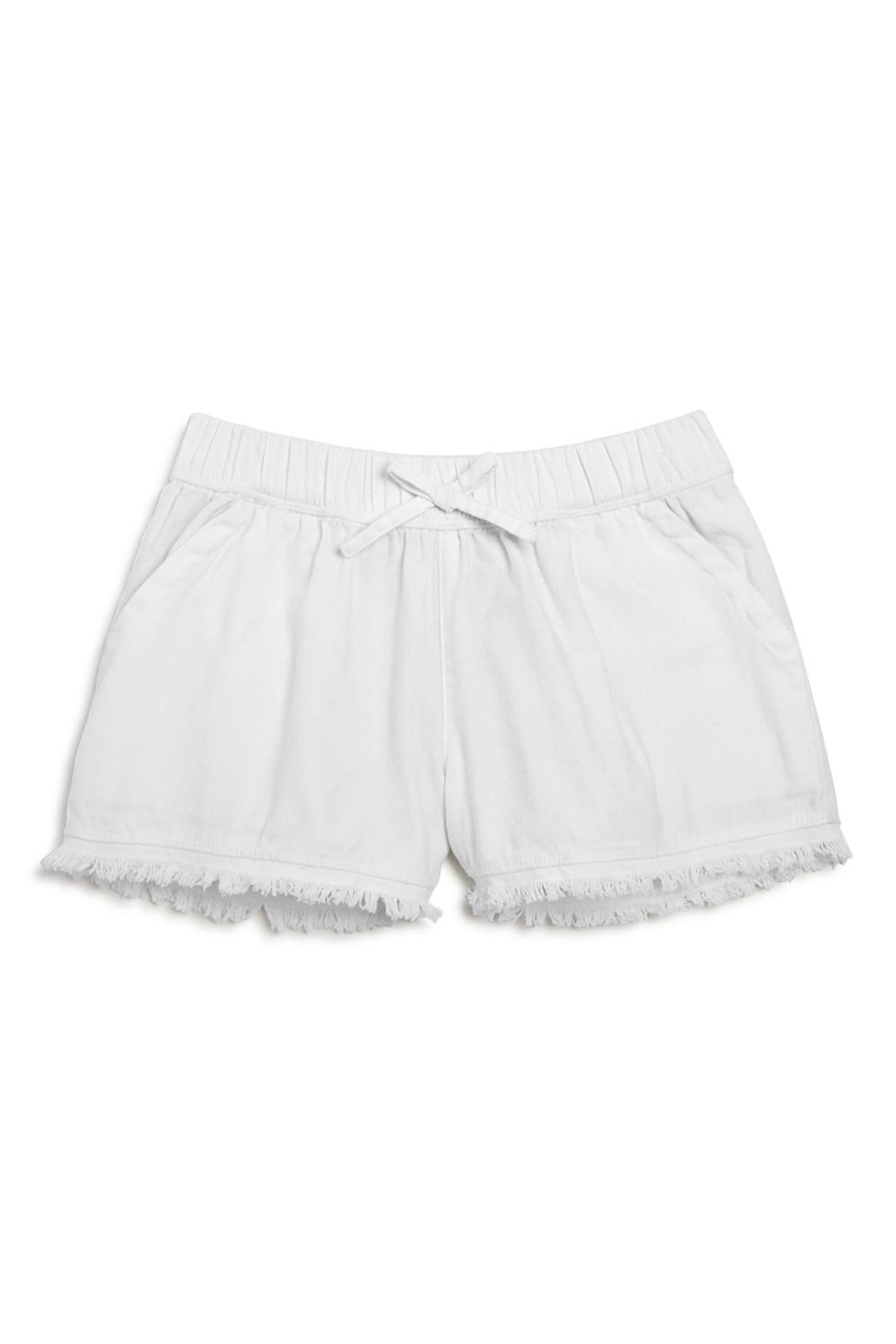 Splendid Lace Trim Shorts - Main Image