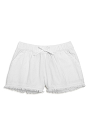 Splendid Lace Trim Shorts - Front cropped