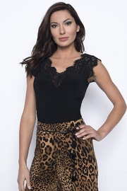 Frank Lyman Lace Trimmed Camisole - Product Mini Image