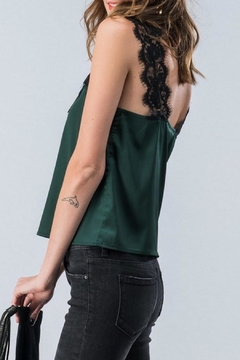Trend:notes Lace Trimmed Camisole - Alternate List Image