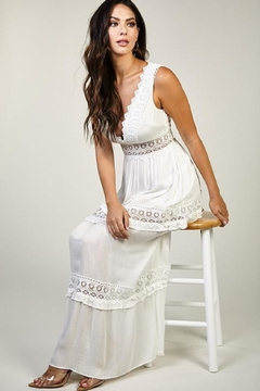 Latiste Lace Trimmed Maxi - Alternate List Image