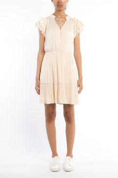 Current Air Lace trimmed short sleeve dress - Product List Image
