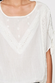 Lovestitch Lace Trimmed Top - Other