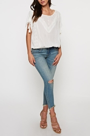 Lovestitch Lace Trimmed Top - Front full body