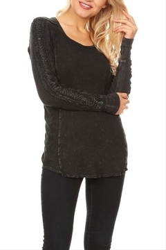 T Party Lace Trimmed Top - Product List Image