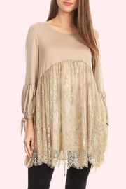 sassy Bling Lace Tunic - Product Mini Image