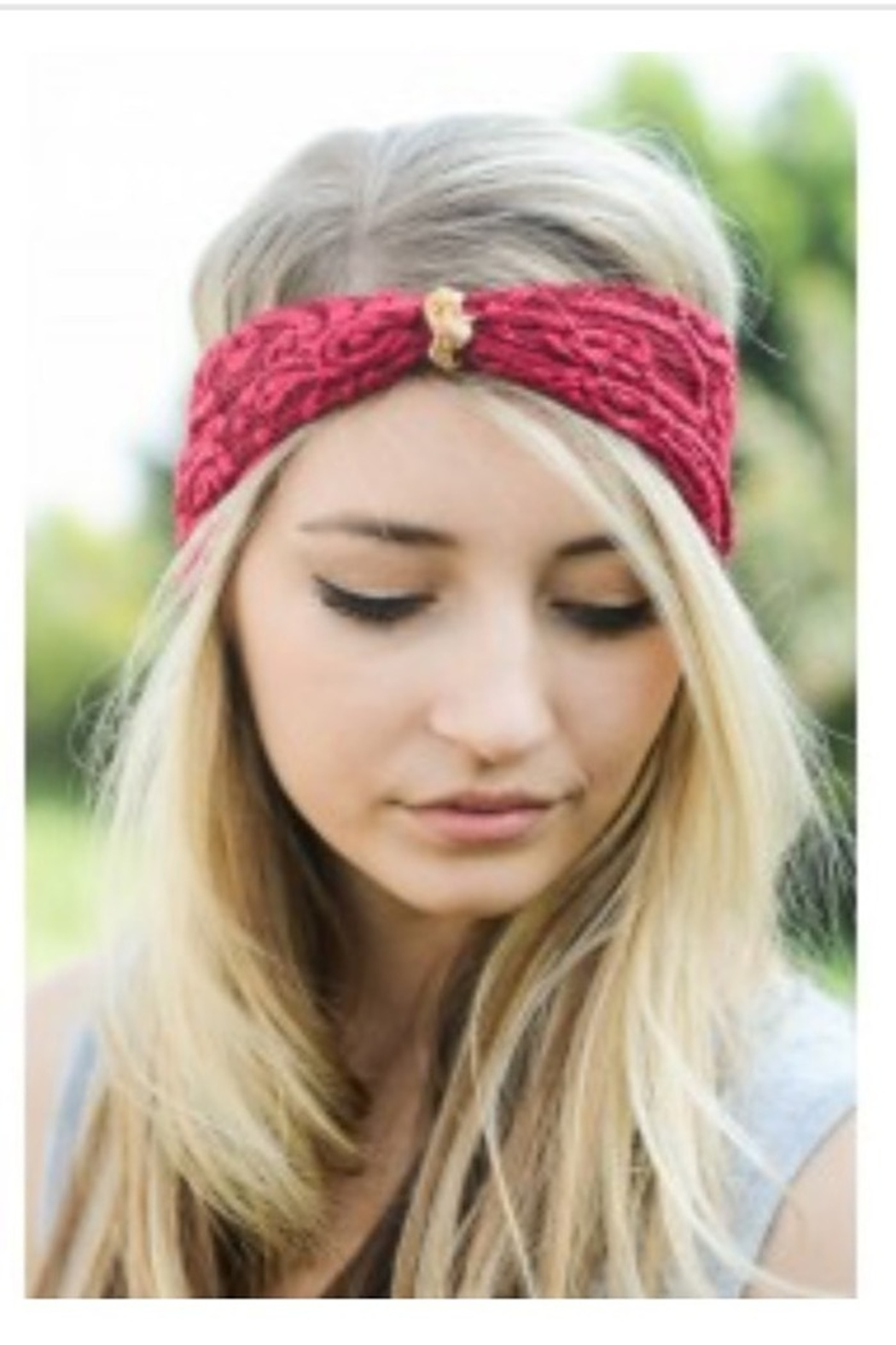 Leto lace turban headband - Main Image