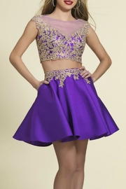 Dave and Johnny Lace Two-Piece Dress - Product Mini Image